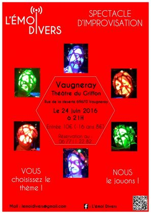 L'Emoi Divers : Spectacle d'improvisation
